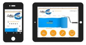 Responsive design Callidus Pro