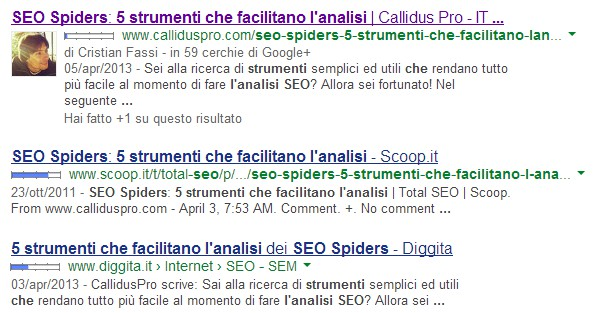 Author rank sconfiggere il plagio