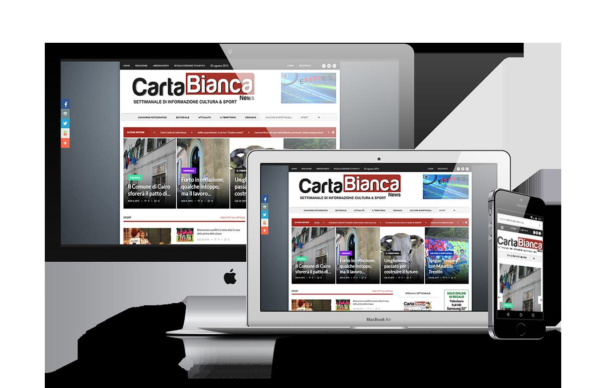 portfolio Carta Bianca News